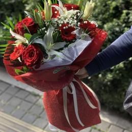 Allways, roses, lilies, gerberas