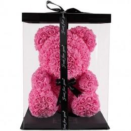 RoseBear, ροζ, με καρδιά ή...