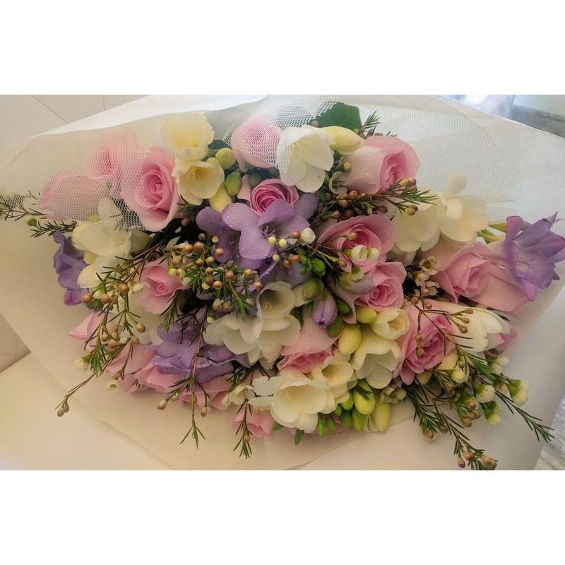 Lilac Pink White