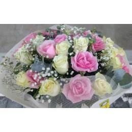 Αθοδέσμη Λευκό-Ροζ