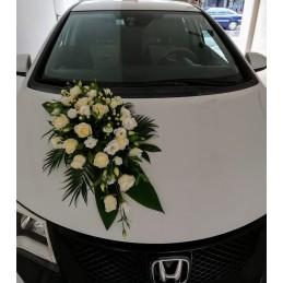 Car Basket White