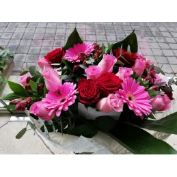 Τριαντάφυλλα Ζέρμπερες φώτο 1