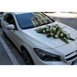 Car With Lysianthos