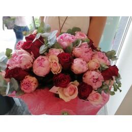 Πεόνιες τριαντάφυλλα!!!!